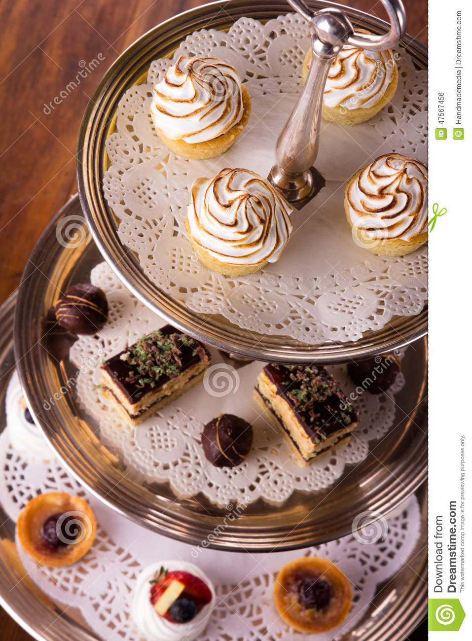 Delicious Dessert Selection Stock Photo - Image of buffet, catering