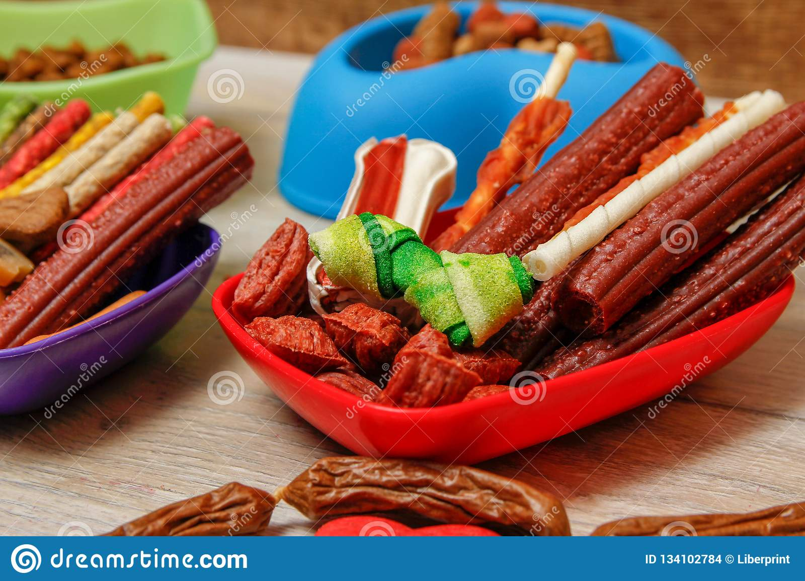Delicious For Dogs Or Dog`s Snacks Stock Photo - Image of