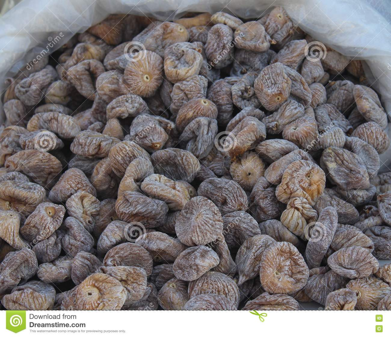Delicious dried figs stock image. Image of fruit, eating