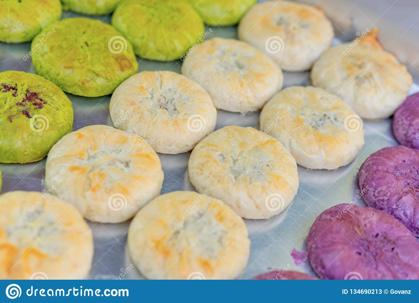 Delicious Flower Cake, a Special Product of Yunnan Province, China