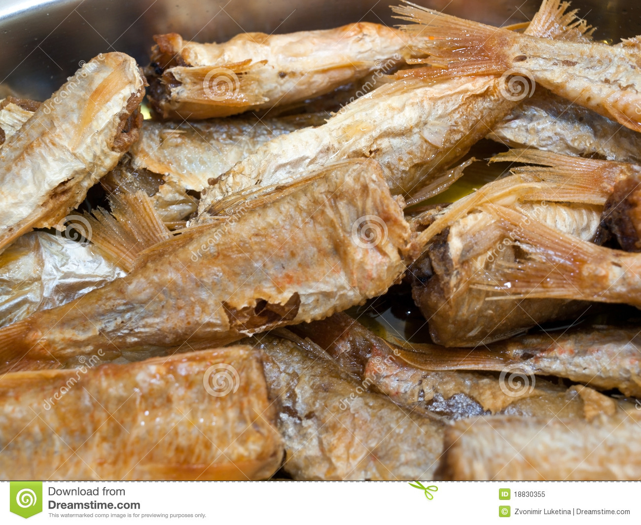 Delicious fried fish royalty free stock photo image for Frying fish in olive oil