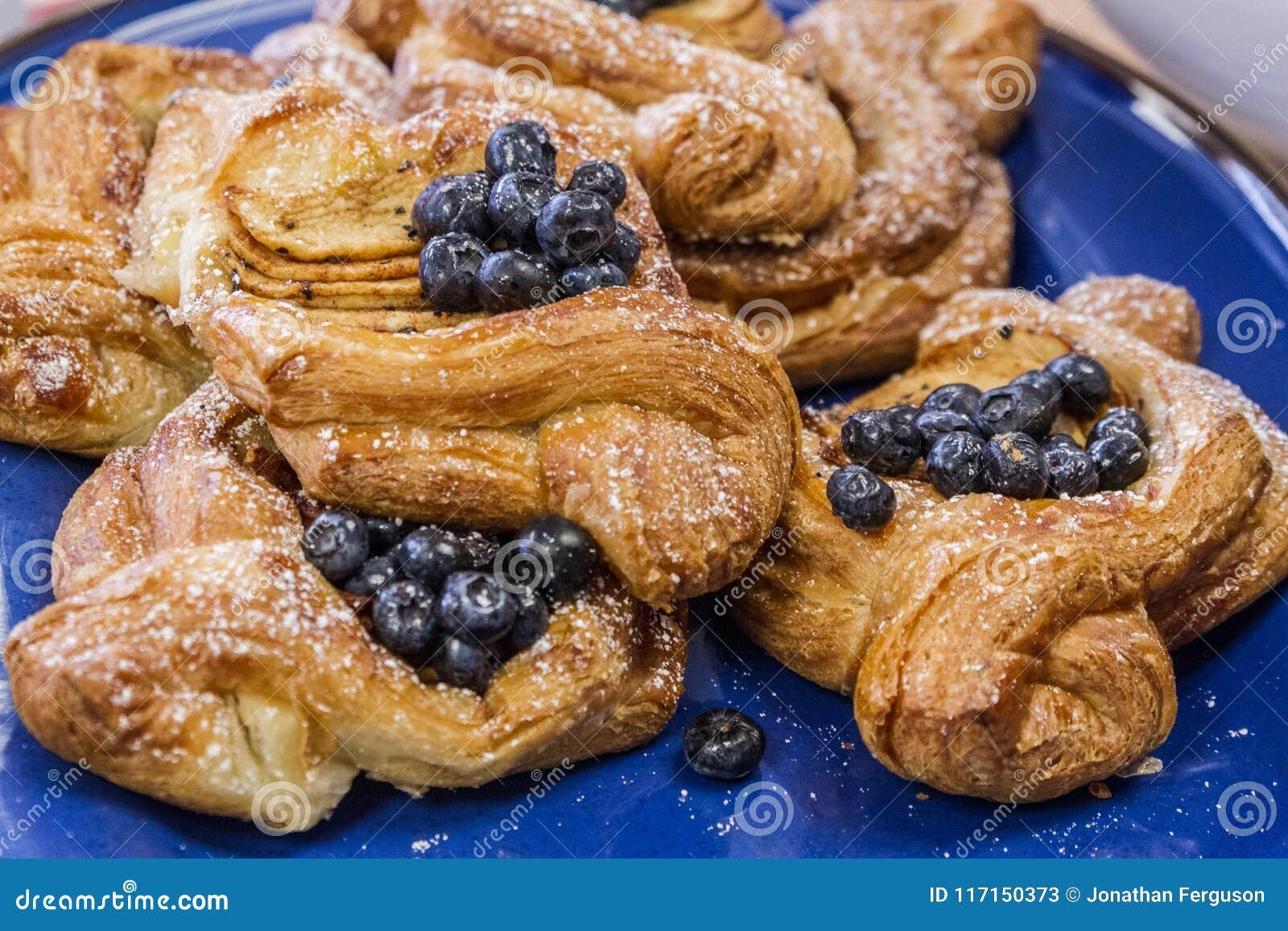 Delicious Fruit Danish Pastries