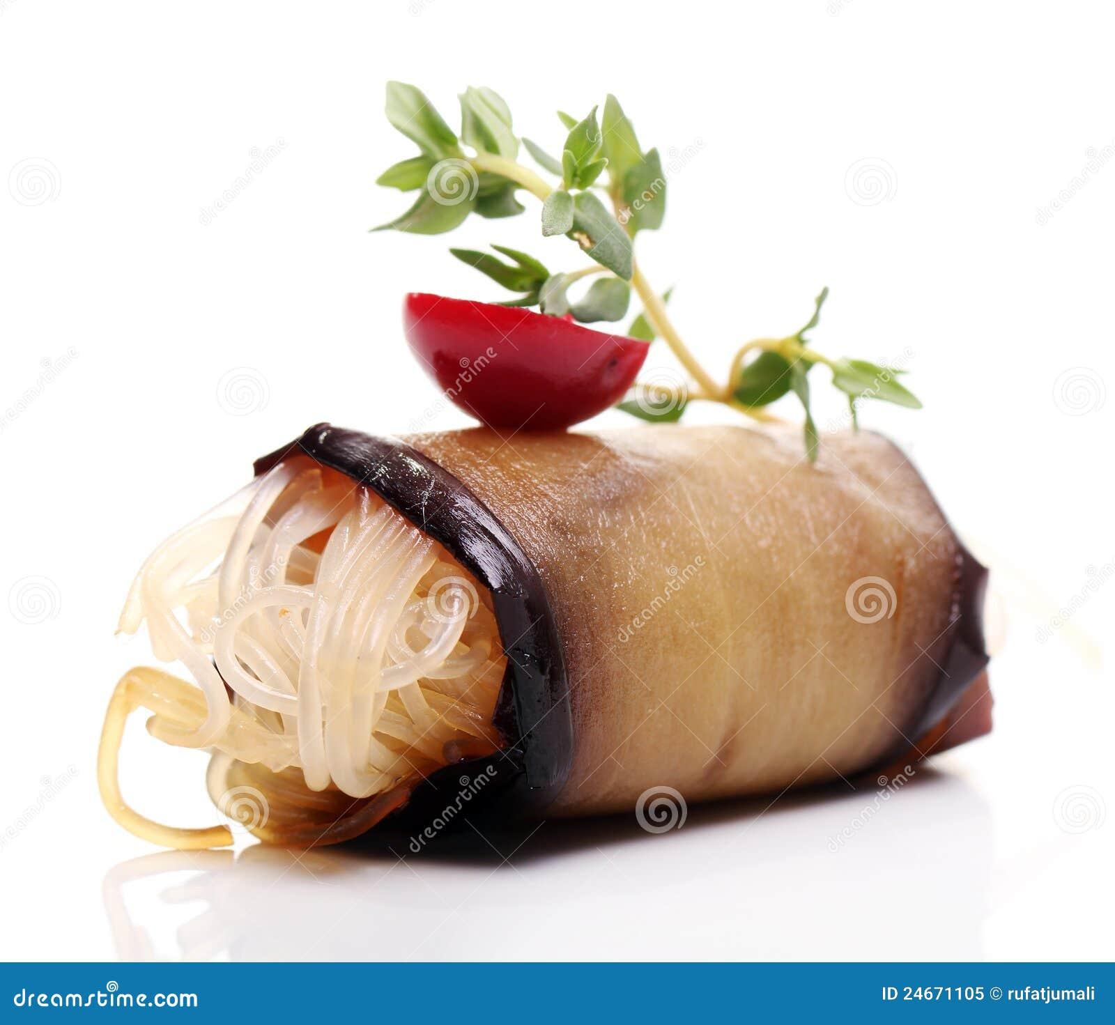 Delicious gourmet food