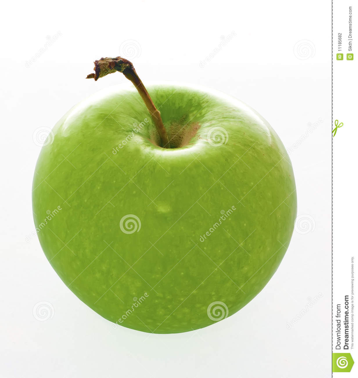 delicious green apple illustration - photo #20