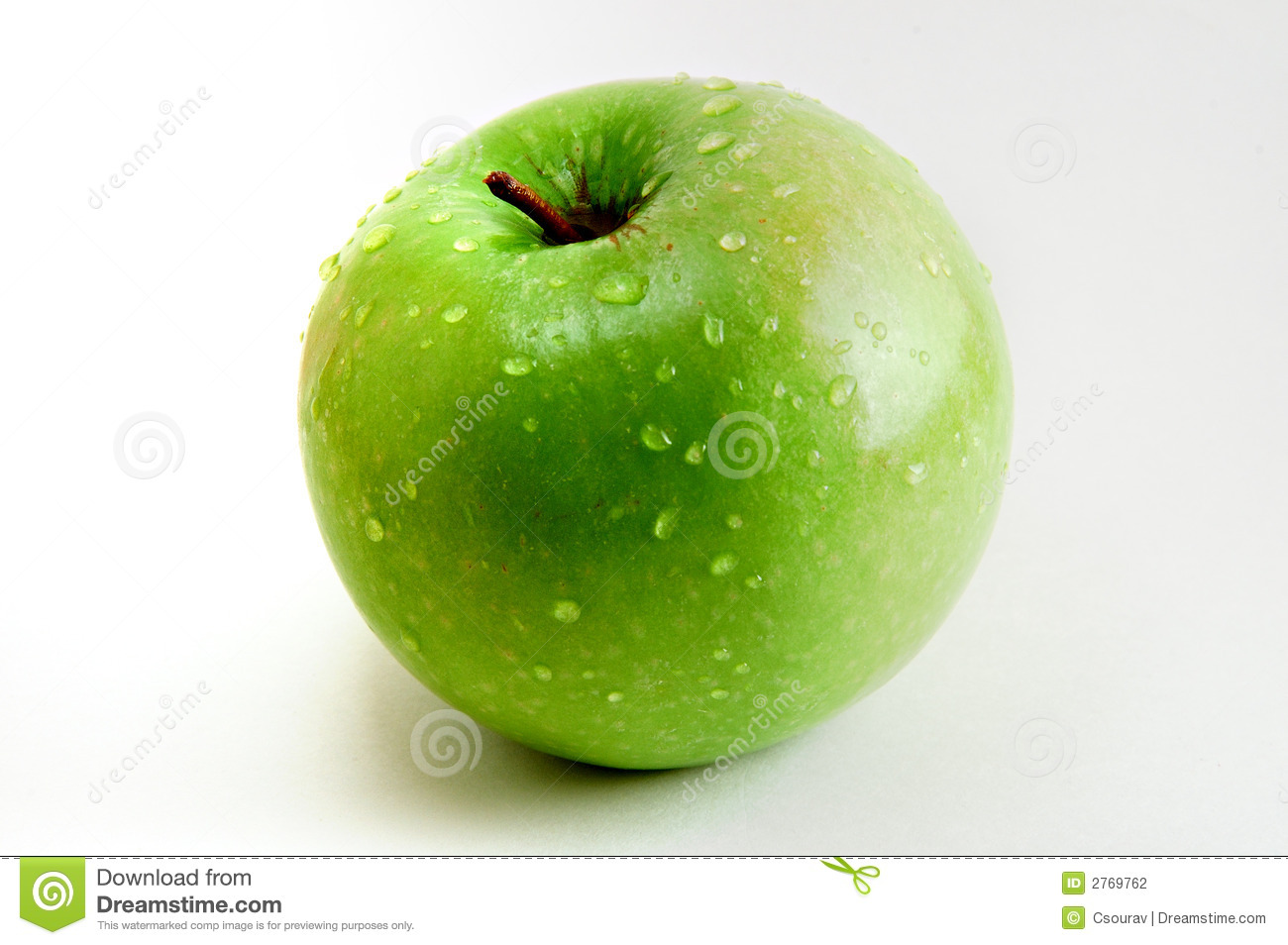 delicious green apple illustration - photo #23