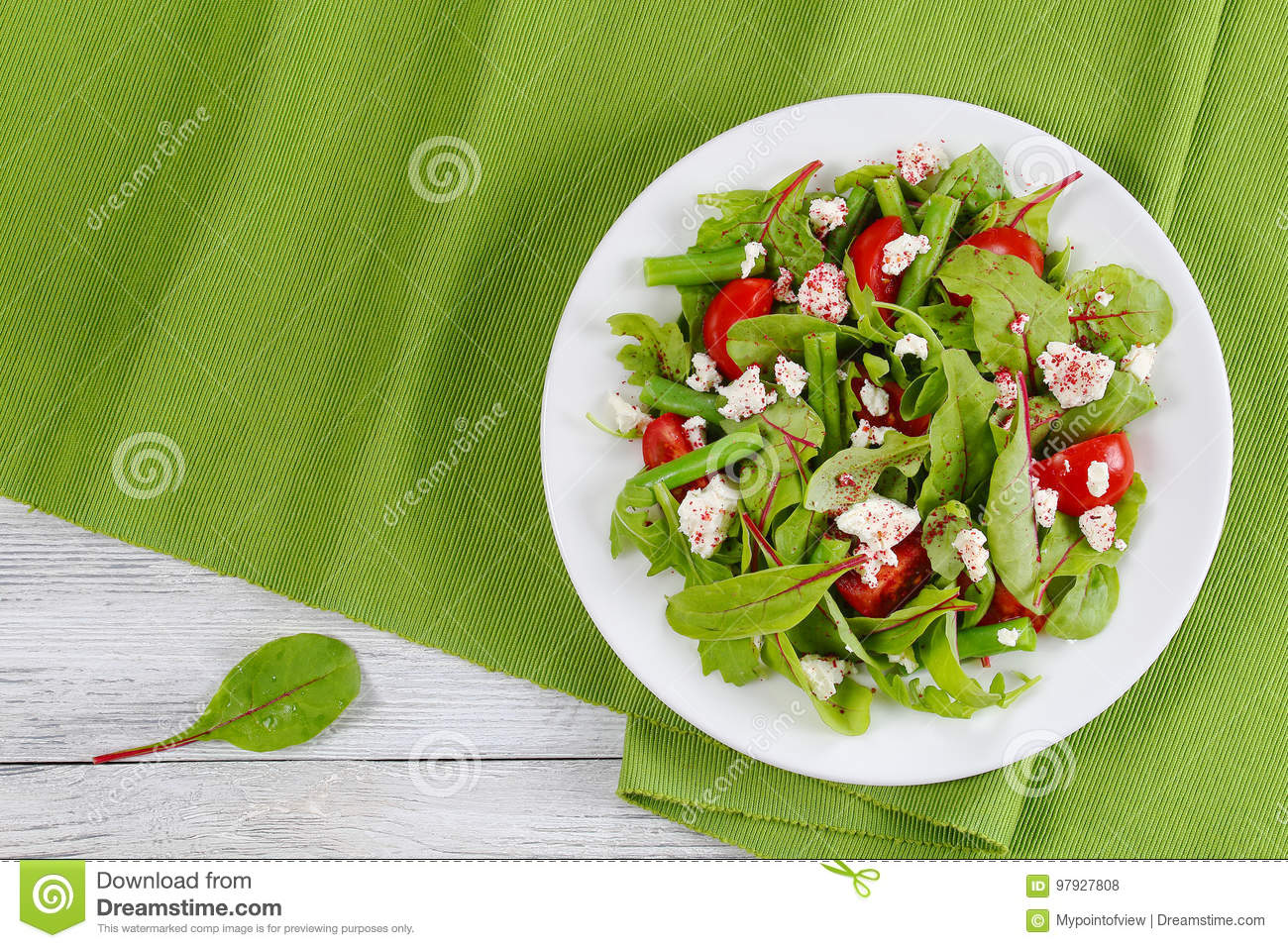 Phenomenal Delicious Healthy Low Calories Vegetarian Salad Stock Photo Home Interior And Landscaping Fragforummapetitesourisinfo