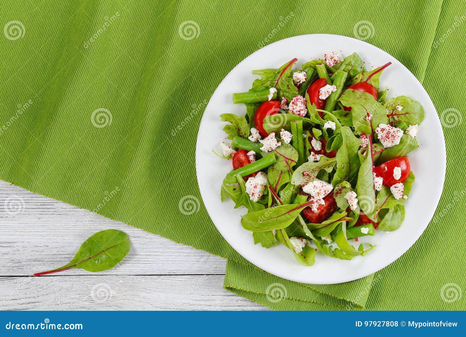 Brilliant Delicious Healthy Low Calories Vegetarian Salad Stock Photo Interior Design Ideas Clesiryabchikinfo