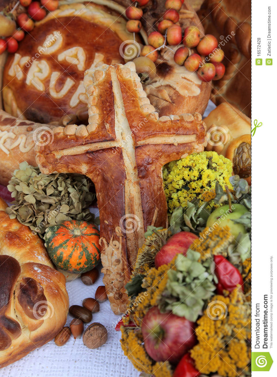Delicious homemade christmas bread royalty free stock photos image 16572428 - Make delicious sweet bread christmas ...
