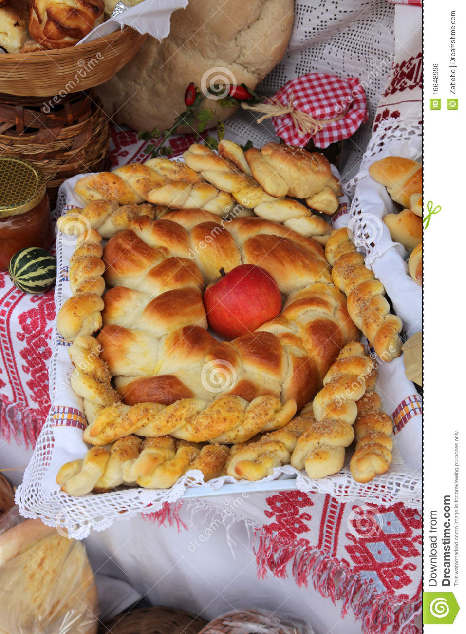 Delicious homemade christmas bread royalty free stock image image 16648996 - Make delicious sweet bread christmas ...
