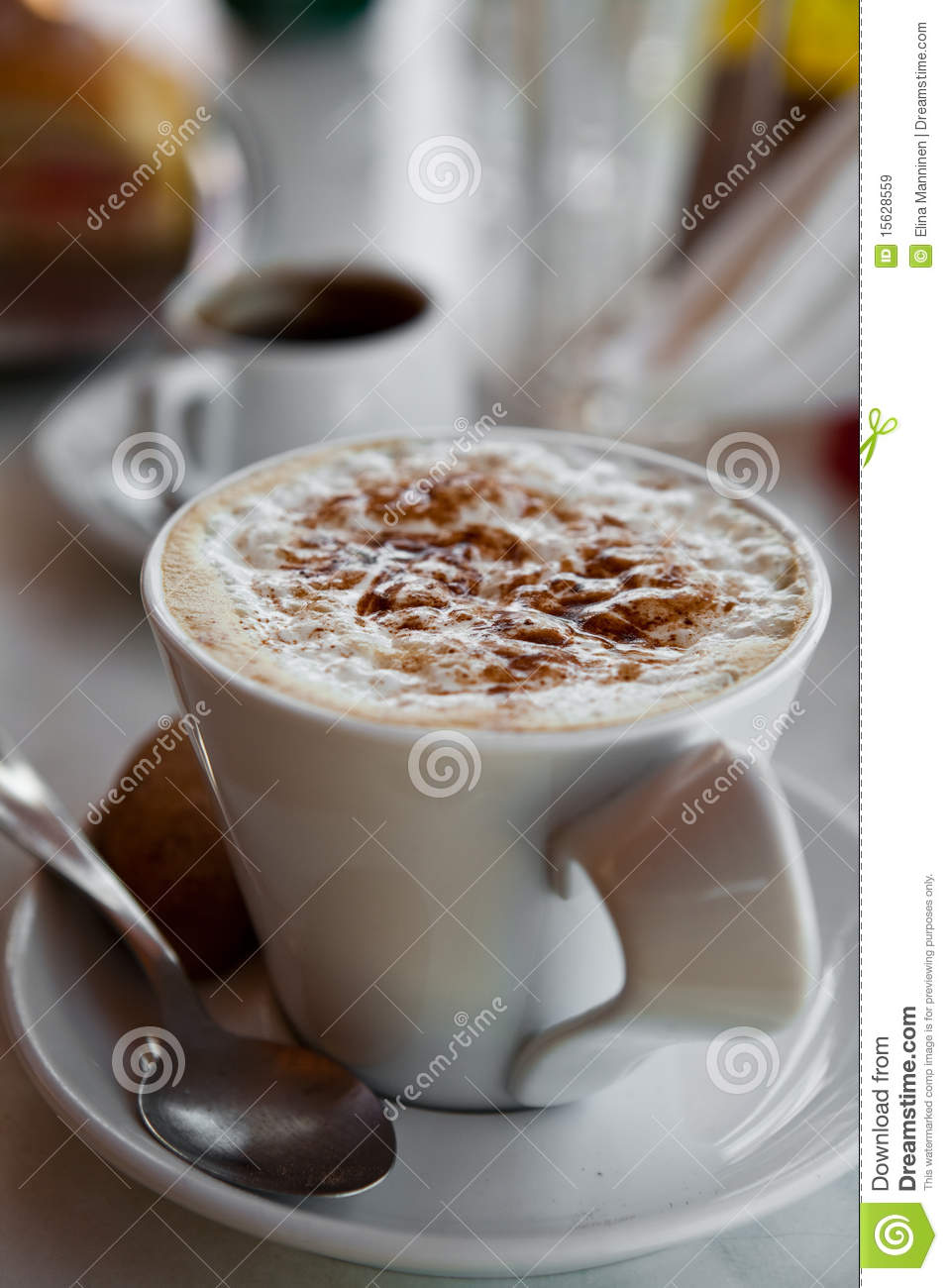 Delicious Hot Chocolate Royalty Free Stock Images - Image: 15628559