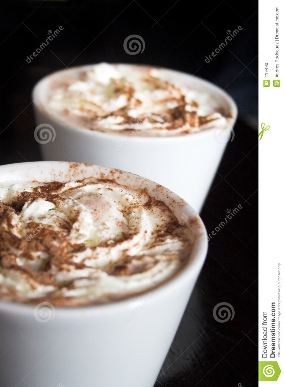 Delicious Hot Chocolate Stock Photo - Image: 419490