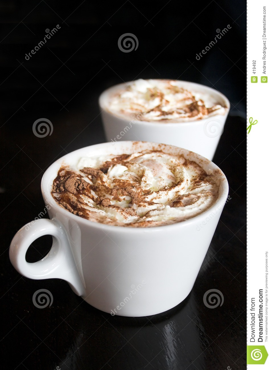 Delicious Hot Chocolate Stock Photography - Image: 419492