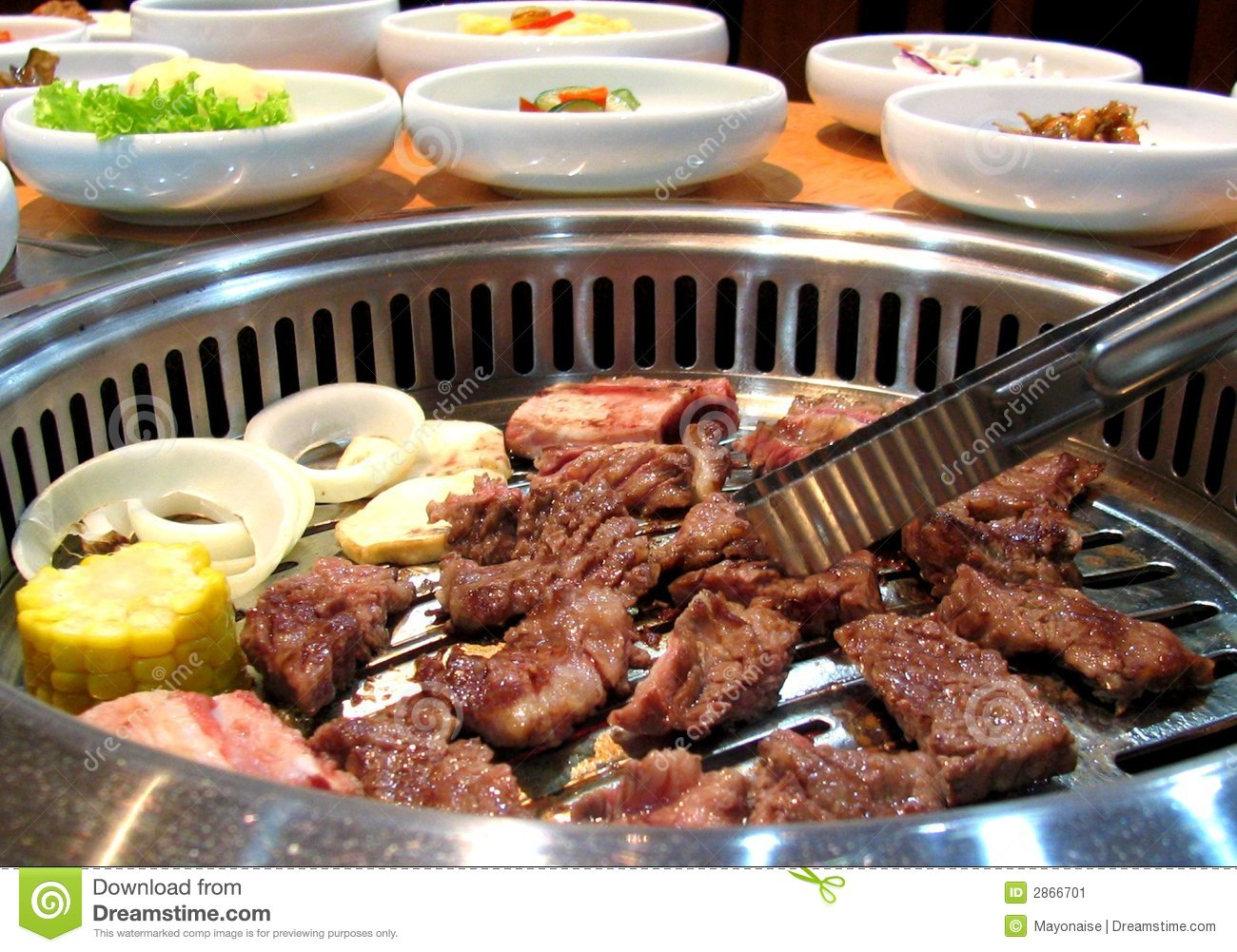 Delicious Korean barbecue