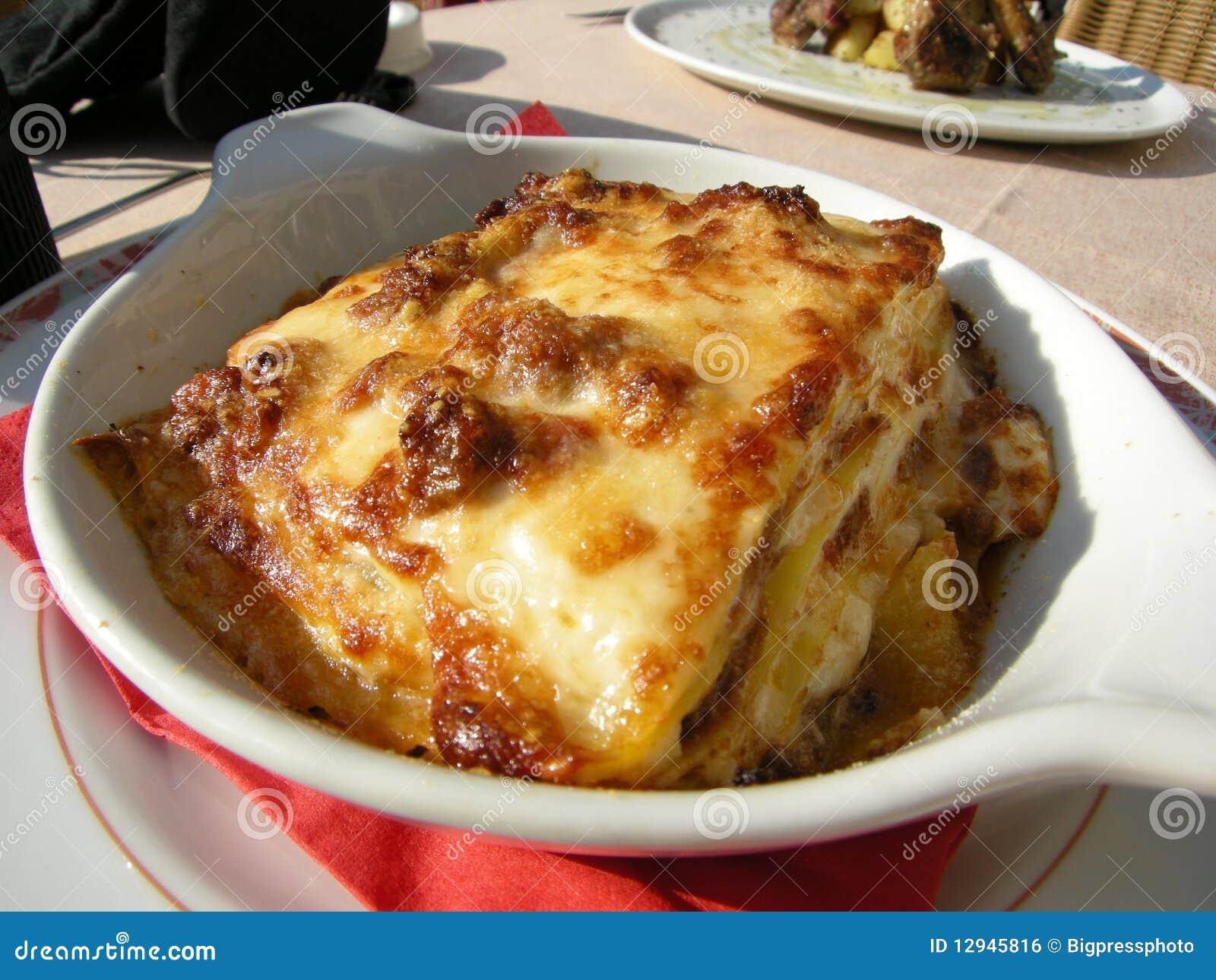 Delicious Lasagne food in Italy