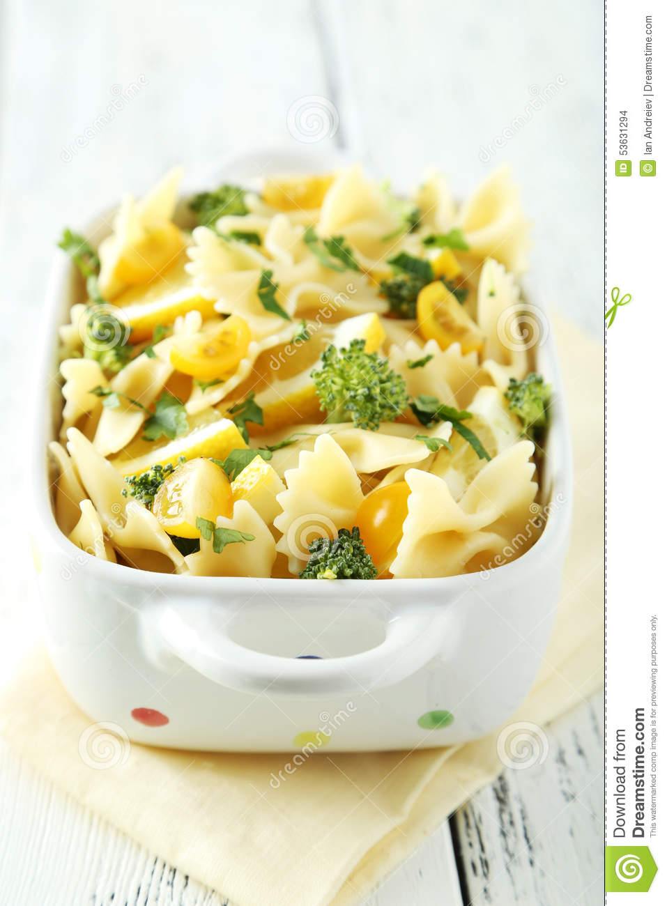 Delicious pasta stock photo. Image of background ...