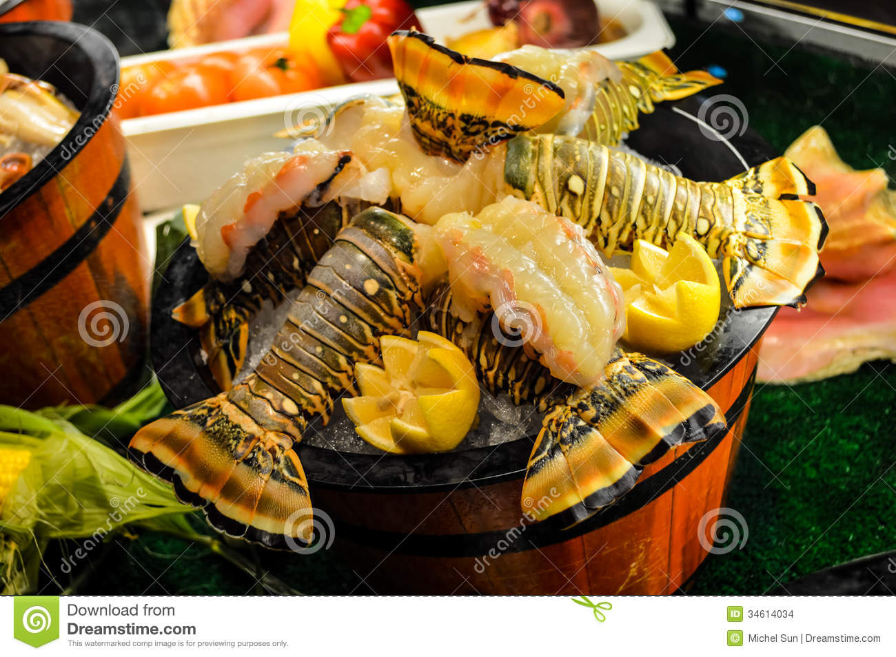 Delicious Seafood Platters Stock Images - Image: 34614034