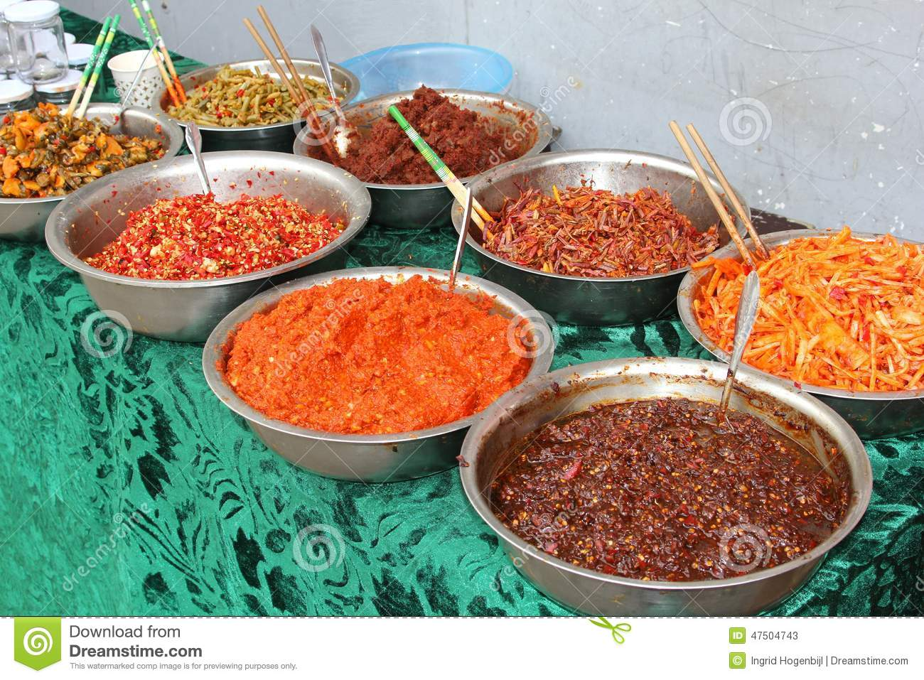 Chinese cuisine with delicious spices herbs and dishes for 7 spices asian cuisine