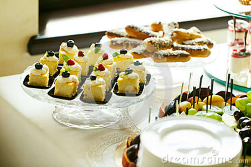 Delicious Dessert Pastry Sweet Table ...