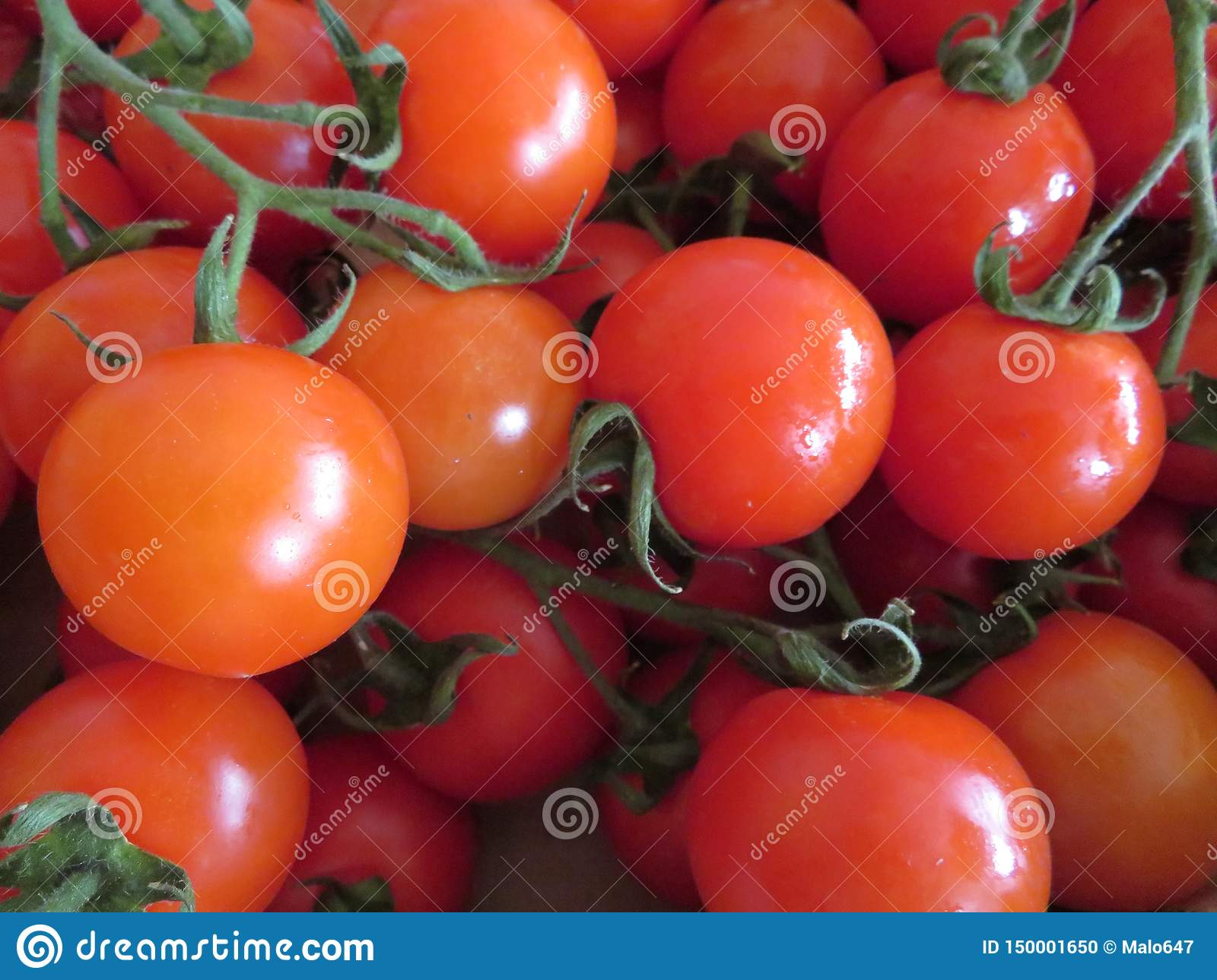 Delicious tomatoes with a good looks and incredible color