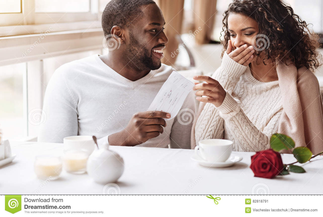 American woman dating african man