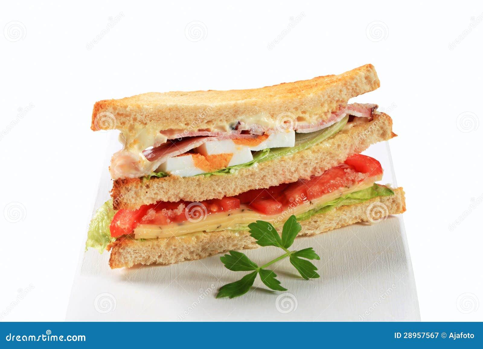 Delikatesy kanapka