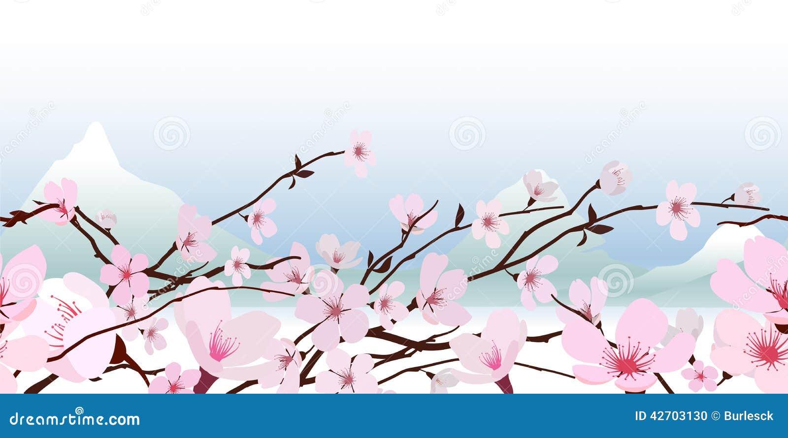 Delikatny różowy wiosny okwitnięcie
