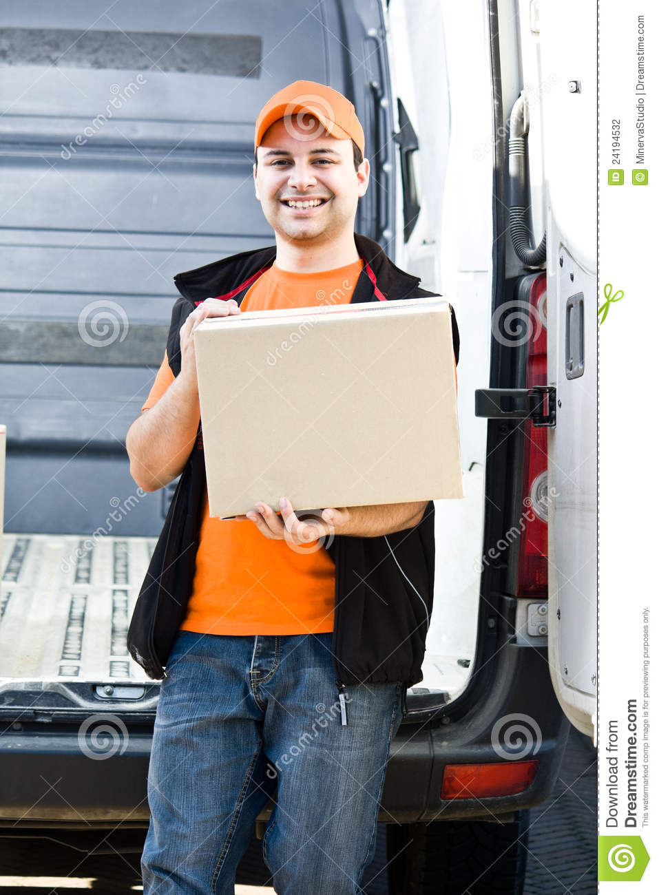 Delivery Boy Stock Photography Image 24194532