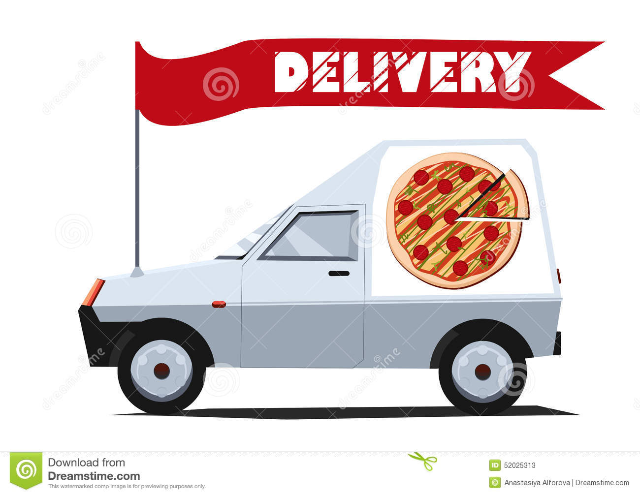 delivery driver clip art - photo #49