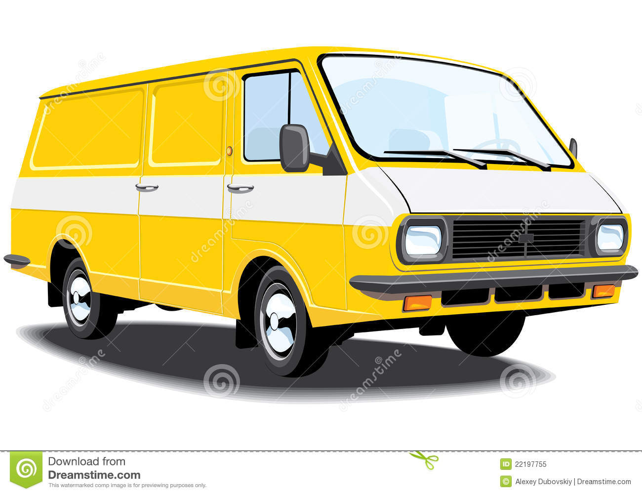 Delivery And Cargo Van Royalty Free Stock Photo - Image ...