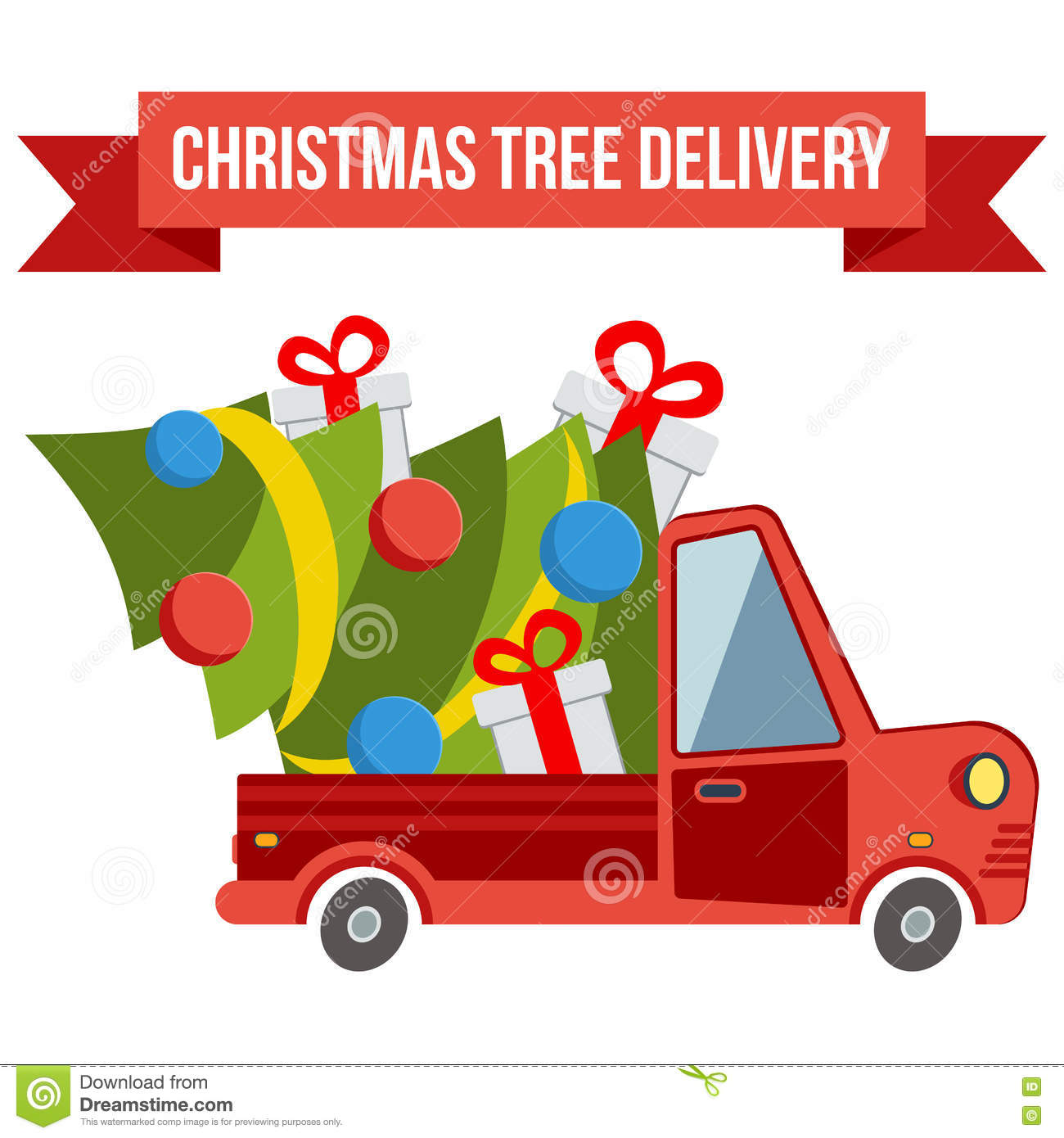 christmas tree delivery watford
