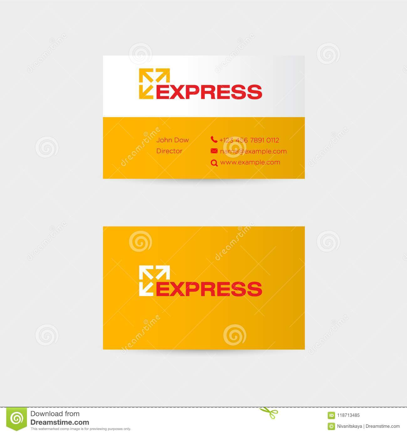 Delivery logo express logo mail parcels logistic emblem logo express logo mail parcels logistic emblem logo with arrows on business card identity reheart Gallery