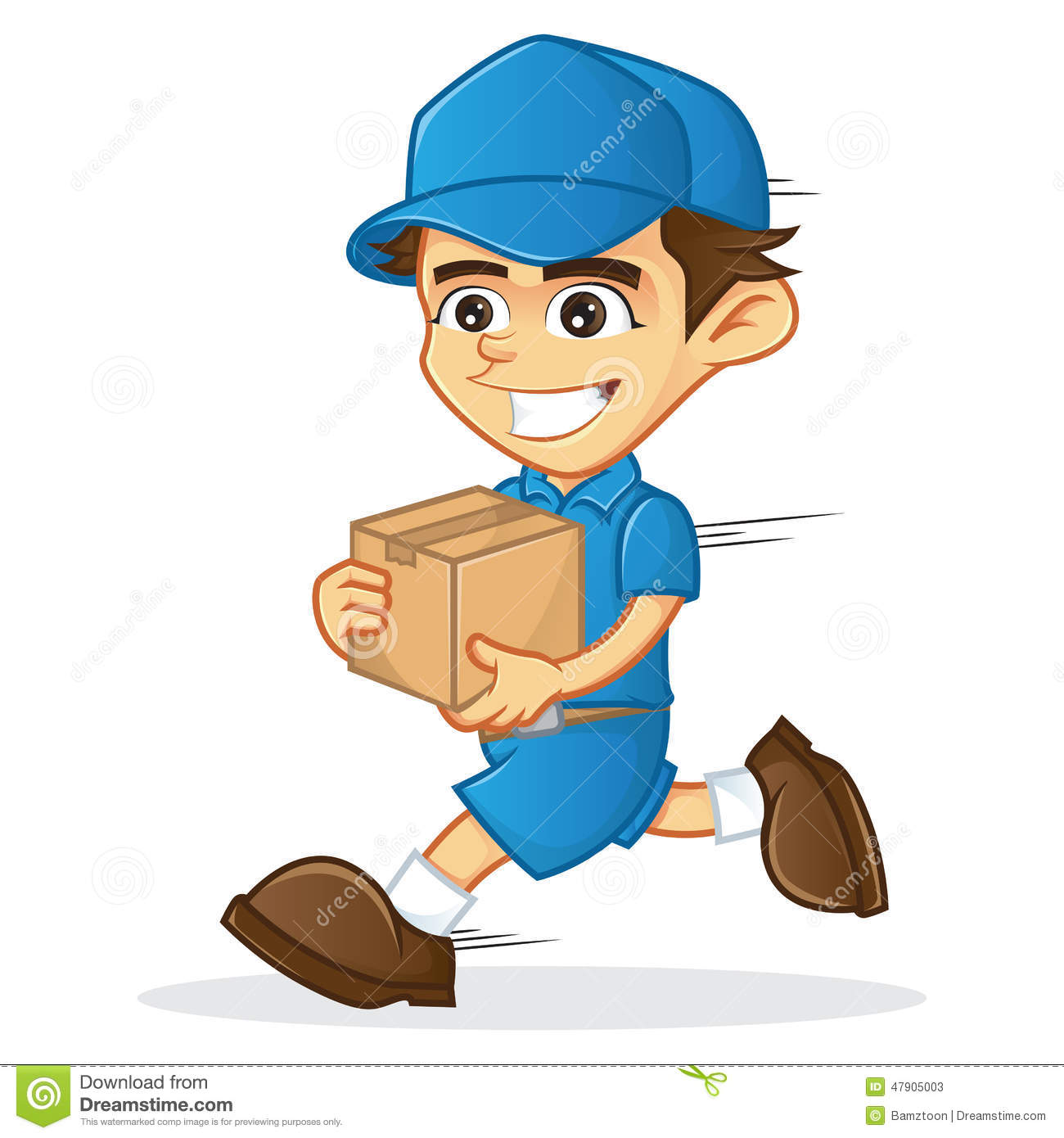 clipart delivery man - photo #12