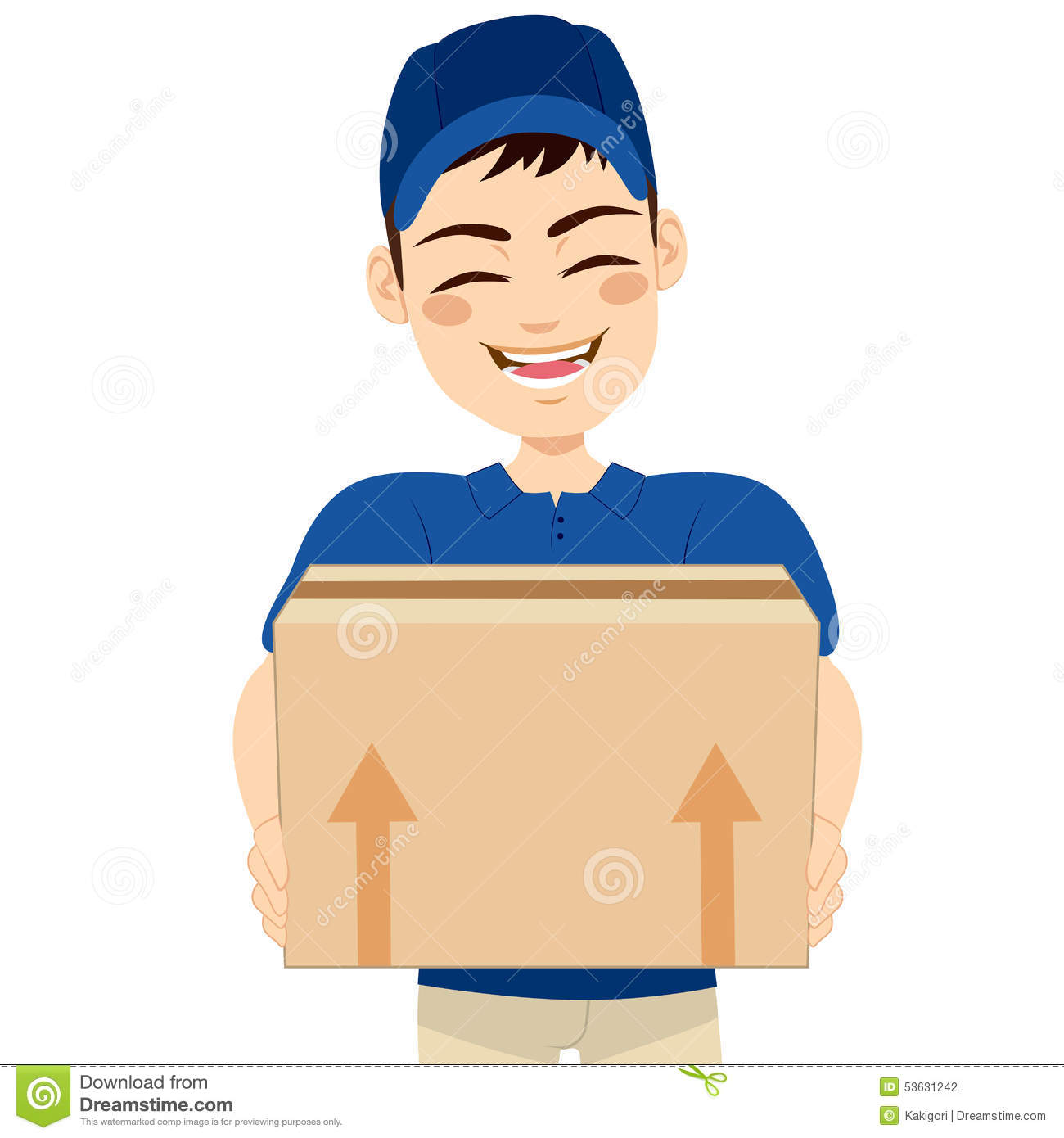 clipart delivery man - photo #25