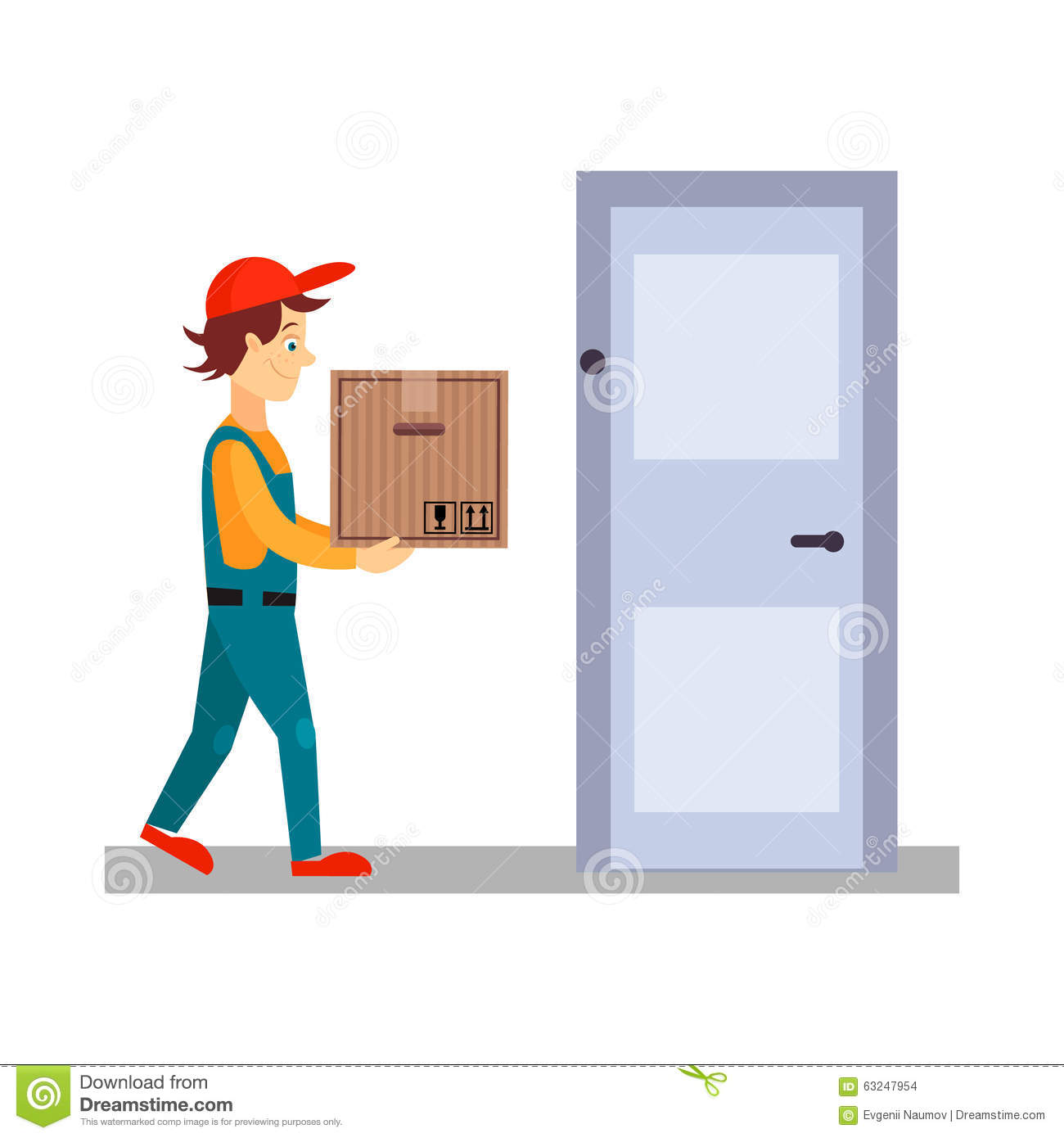 box delivery door ...