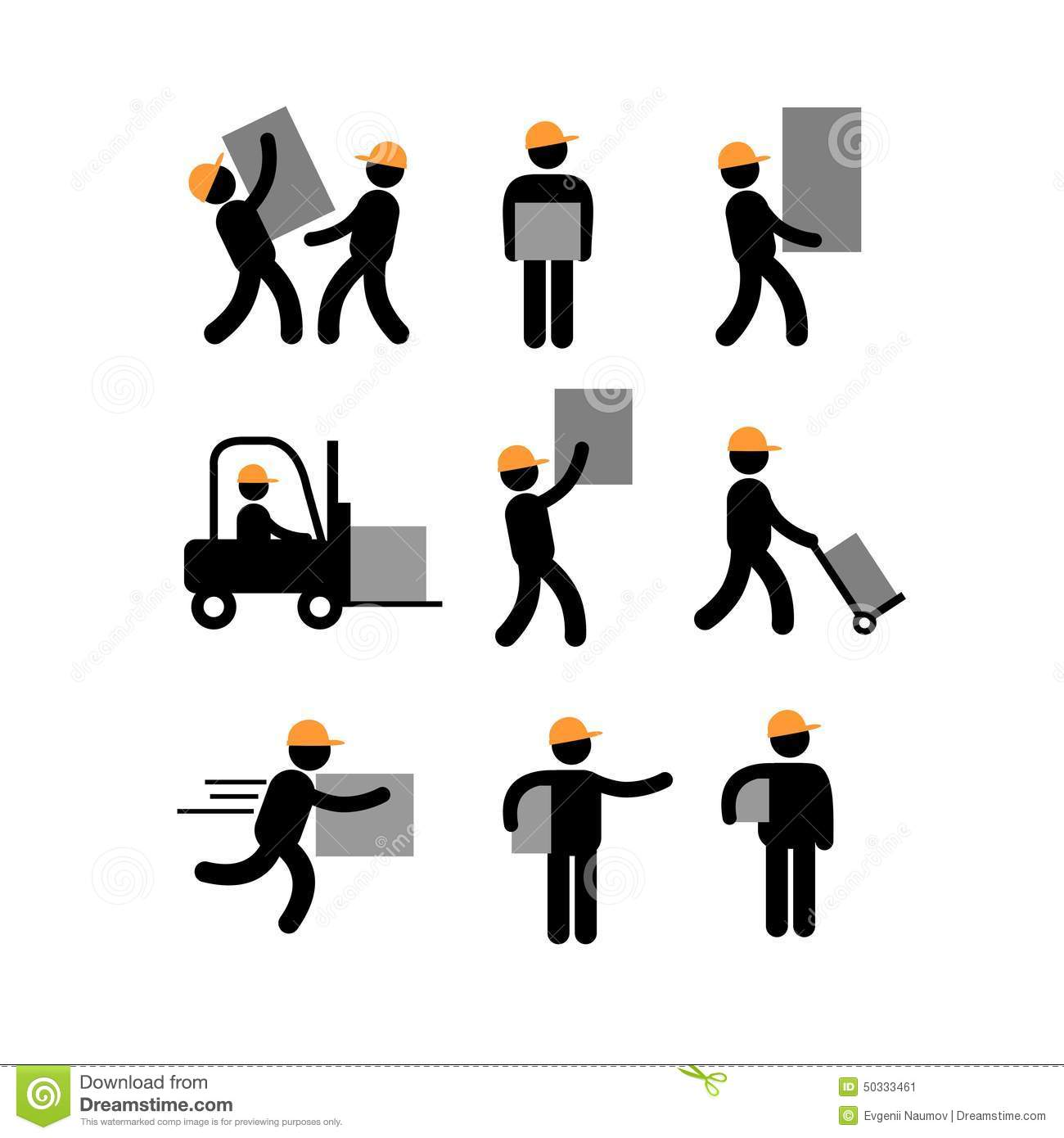 clipart delivery man - photo #48