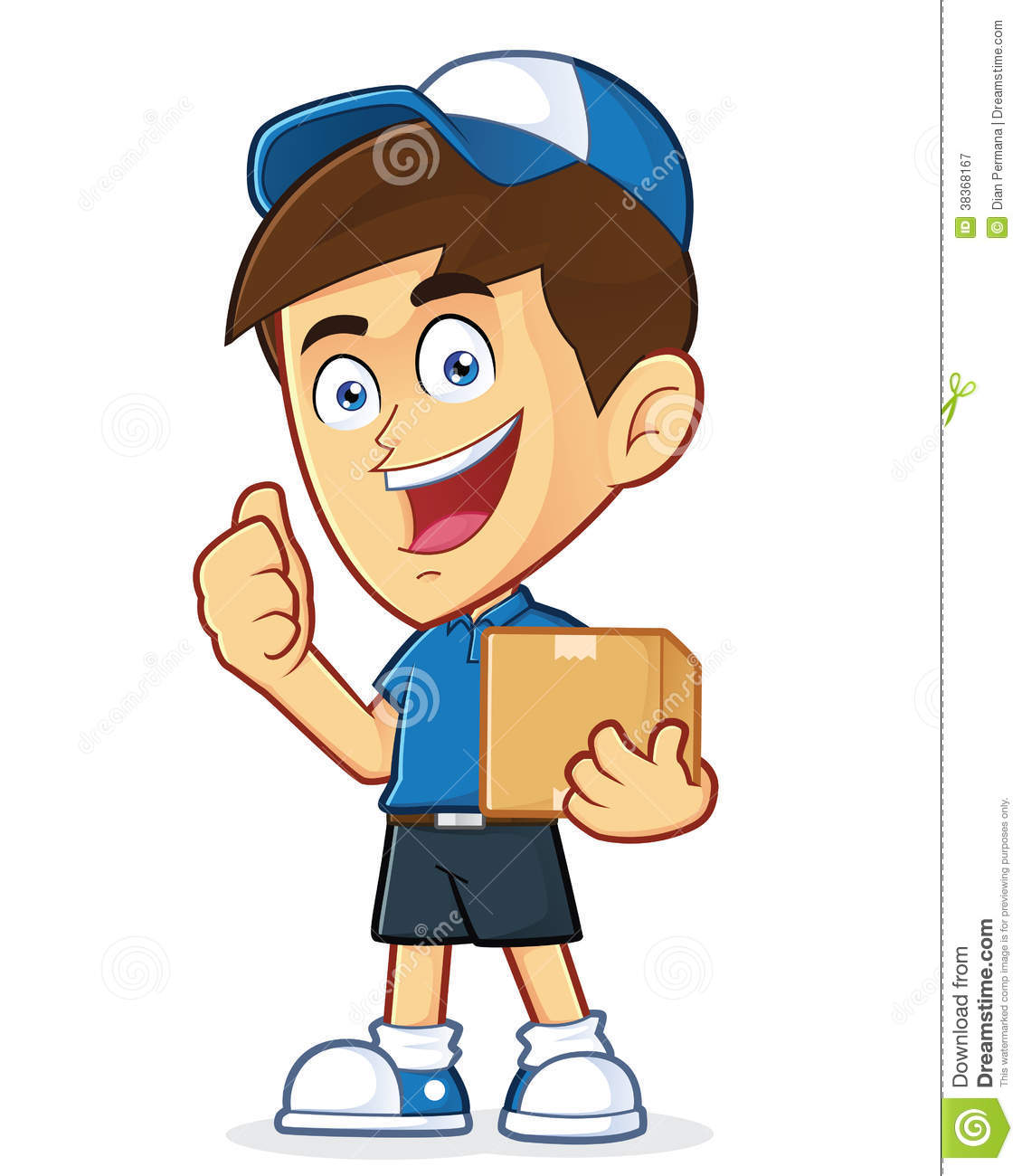 clipart delivery man - photo #20