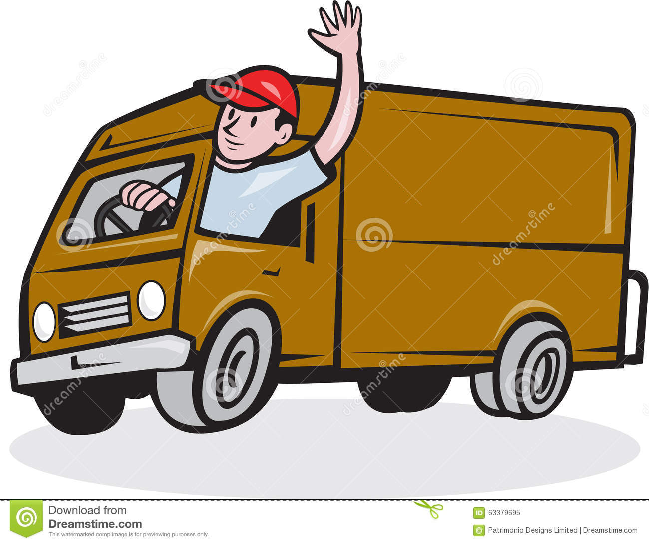 delivery driver clip art - photo #21