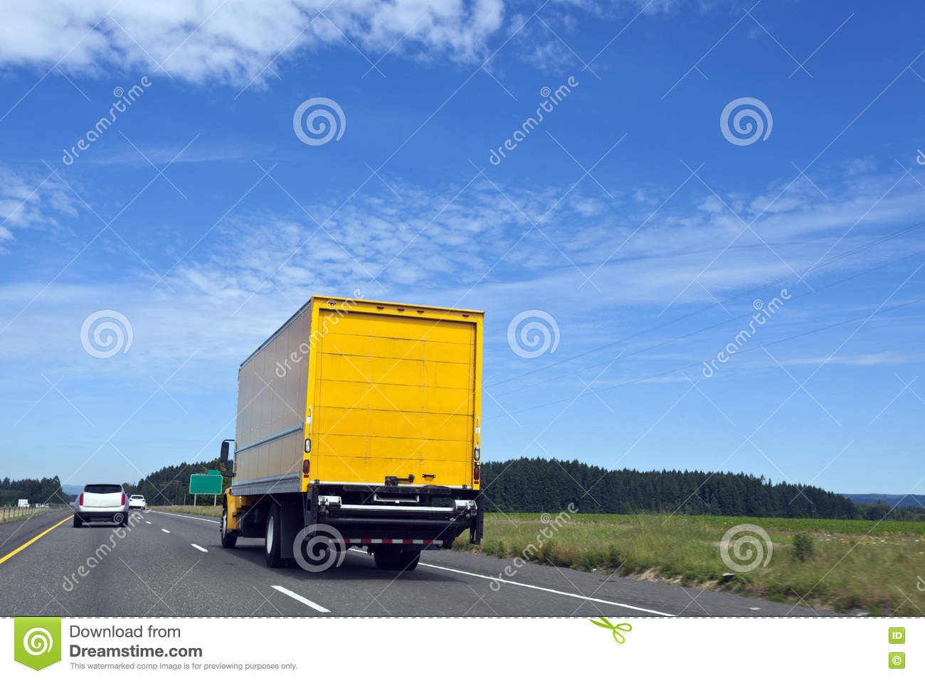Moving Truck Companies >> Delivery Moving Truck stock image. Image of orange ...