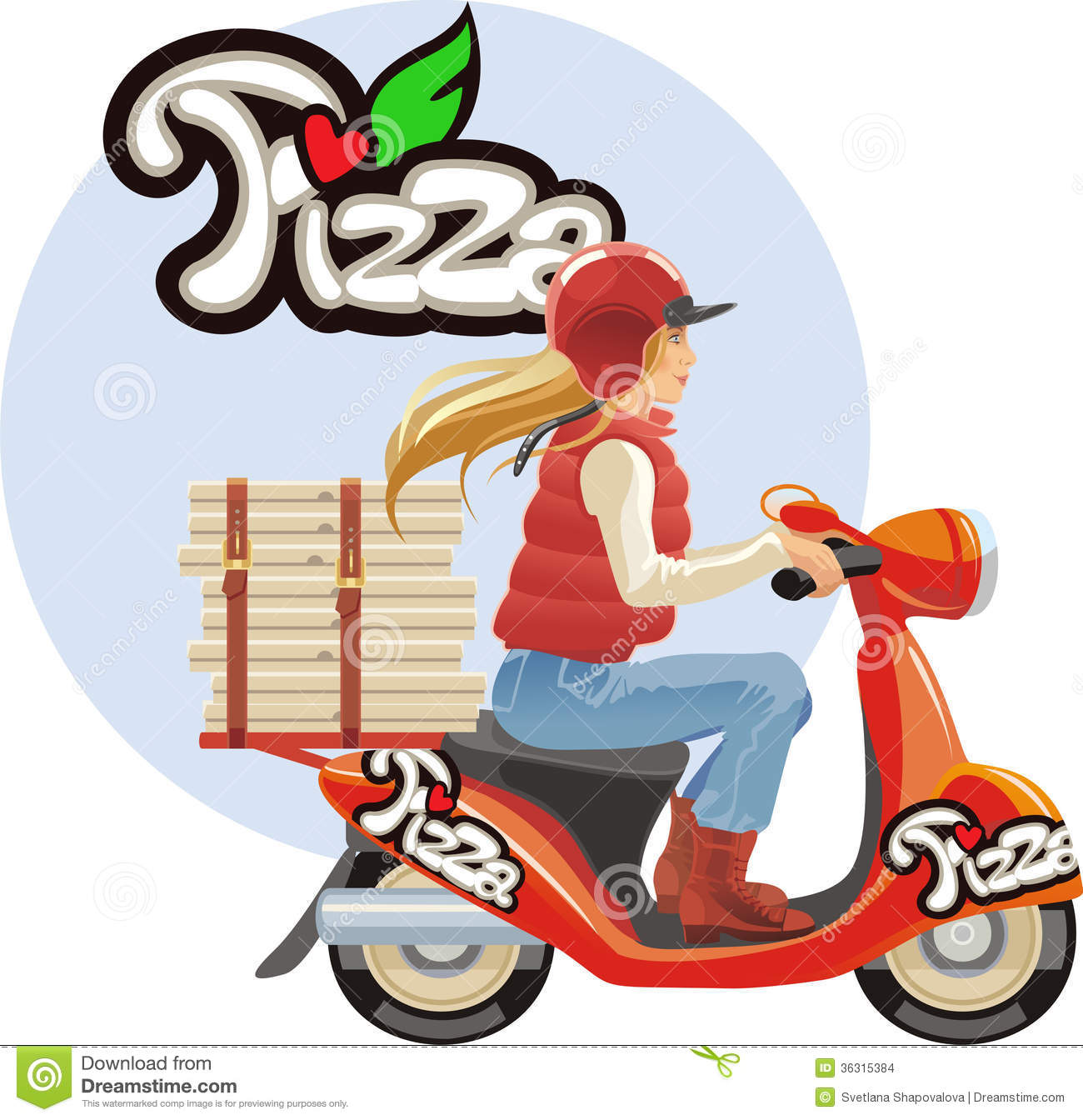 Pizza delivery girl anal sex clip