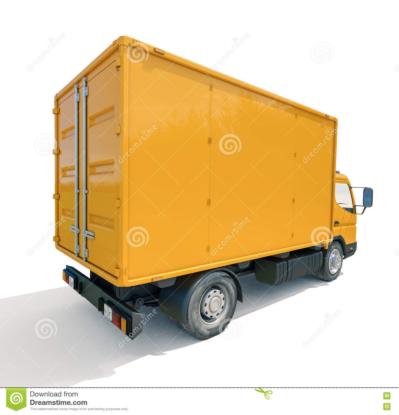 Delivery Truck Icon Royalty-Free Stock Photo | CartoonDealer.com #79146999  Delivery Truck ...