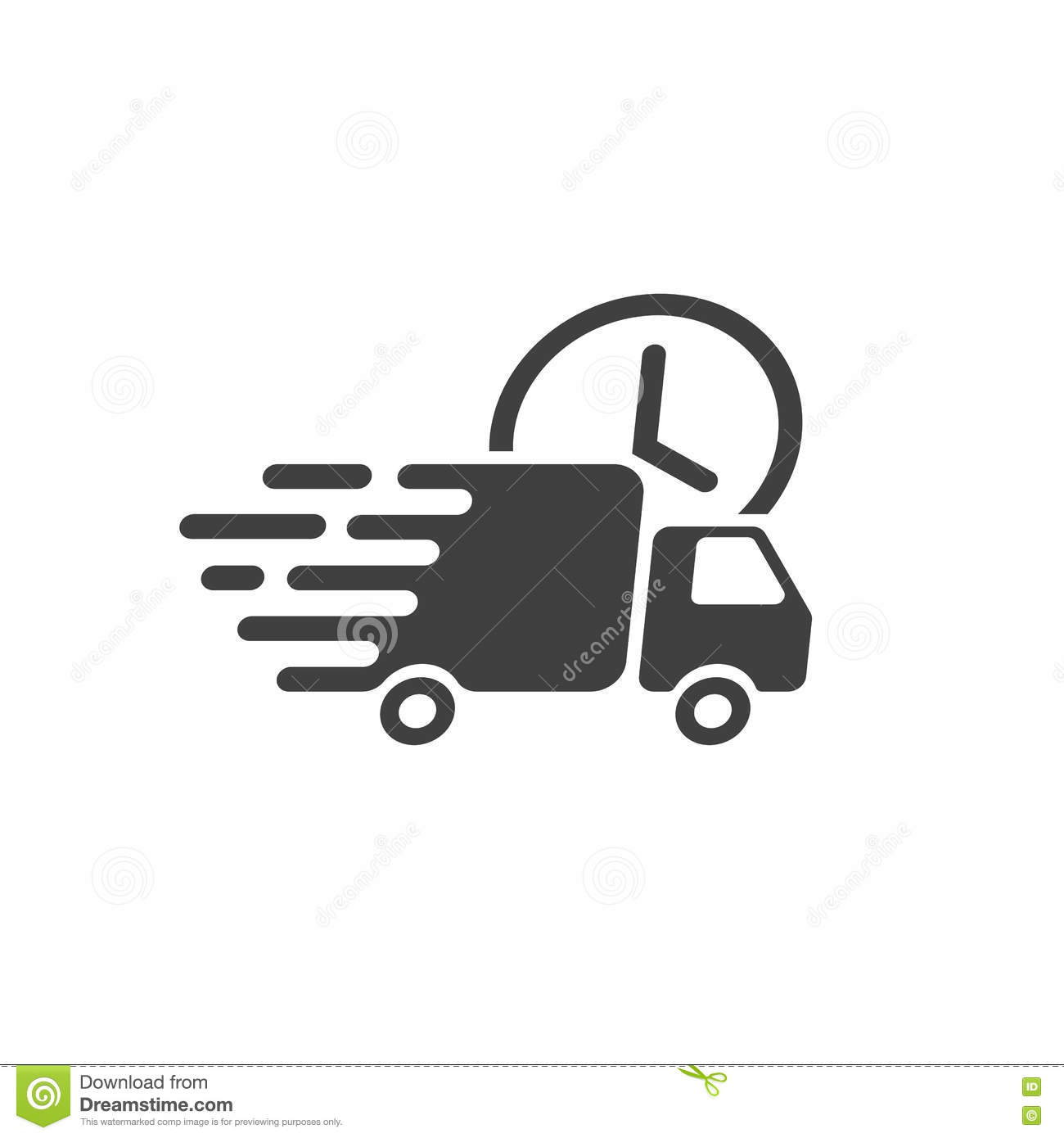 delivery truck icon vector - photo #2