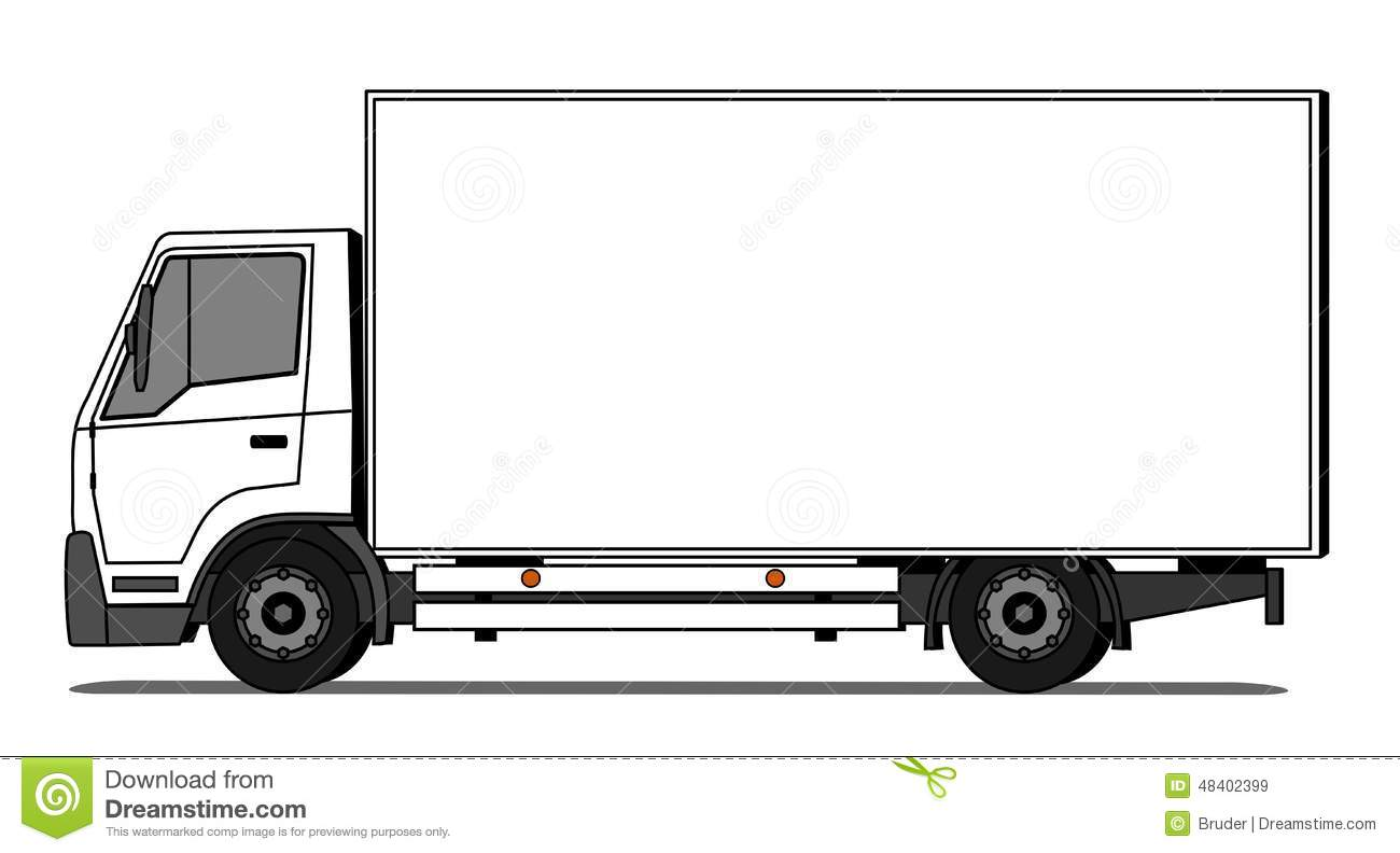 Delivery Truck Stock Vector Illustration Of Brand Business 48402399