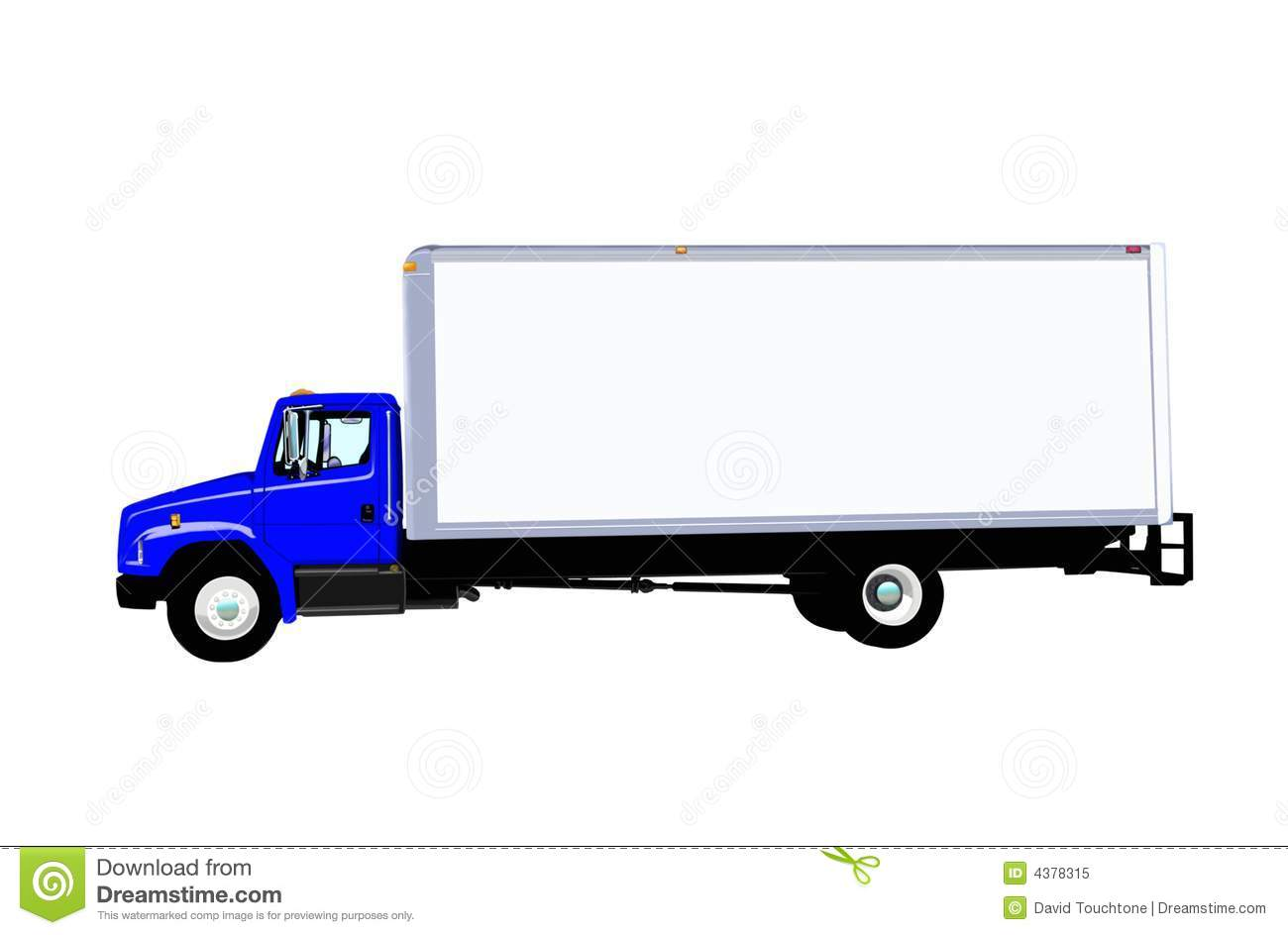Delivery Truck Vector Royalty Free Stock Photo - Image ...