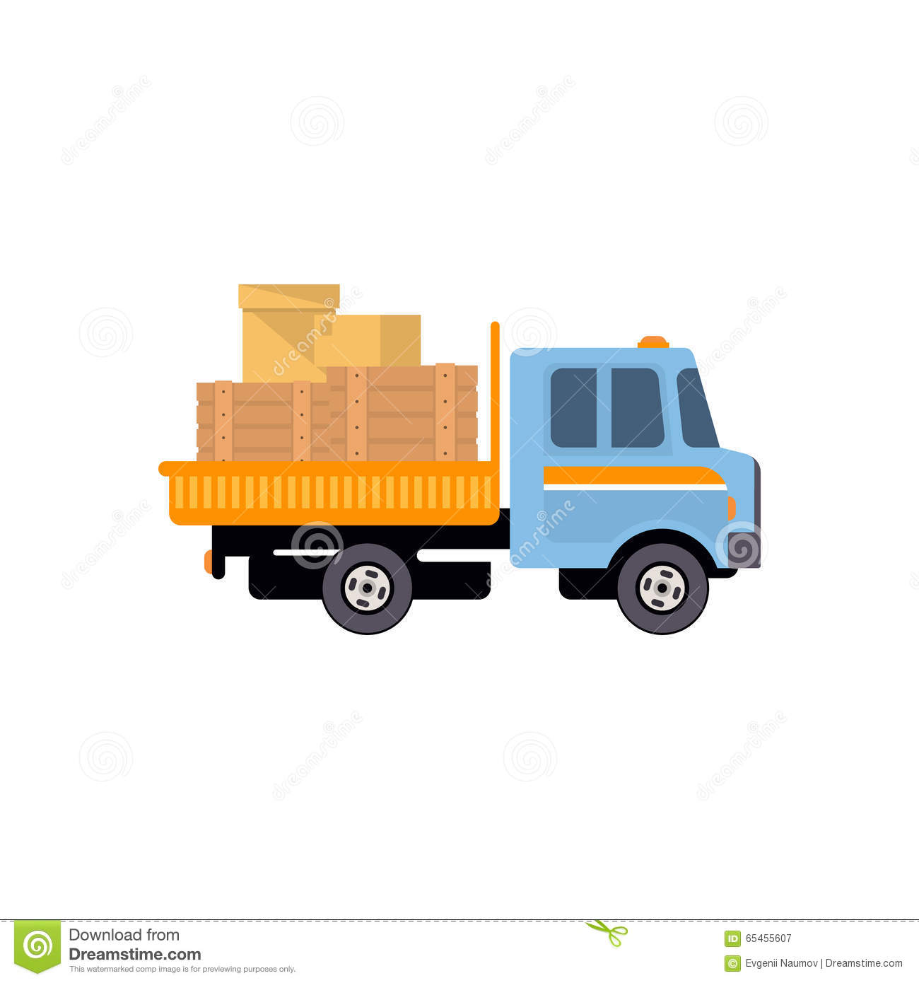 delivery truck vector - photo #10