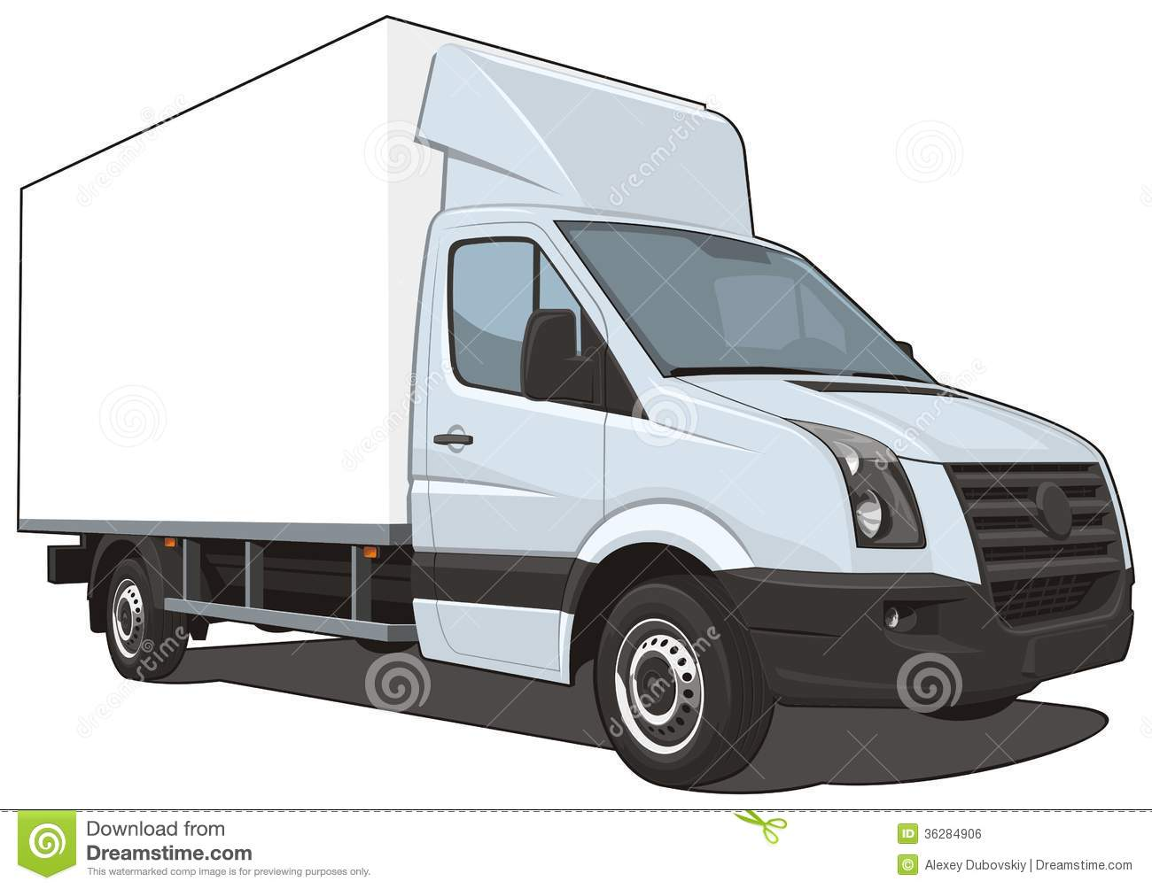 delivery truck vector - photo #12