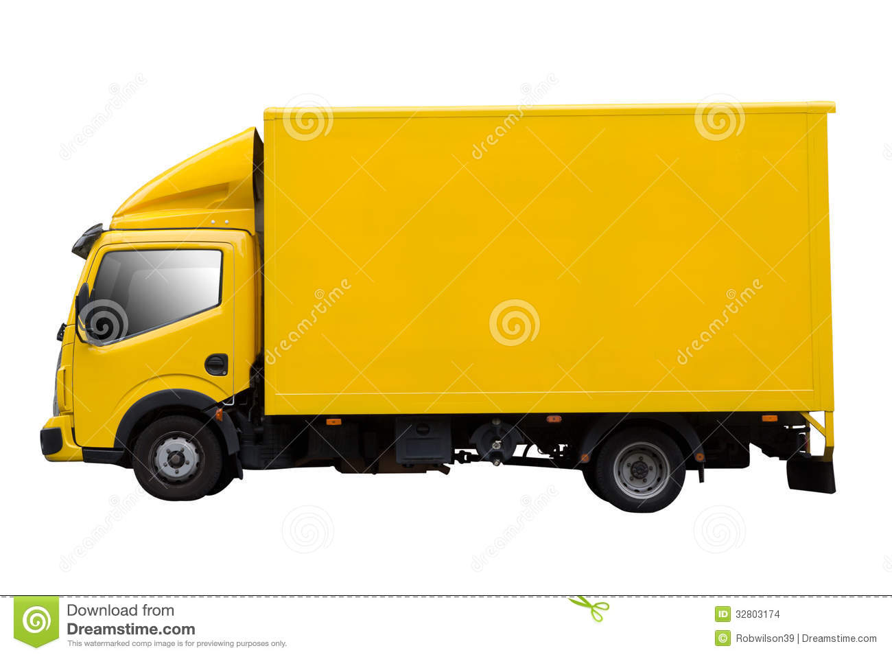 Delivery Truck Stock Images - Image: 32803174