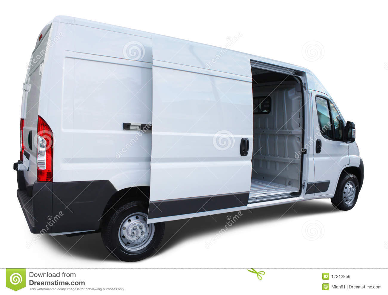 Delivery Van Royalty Free Stock Image Image 17212856