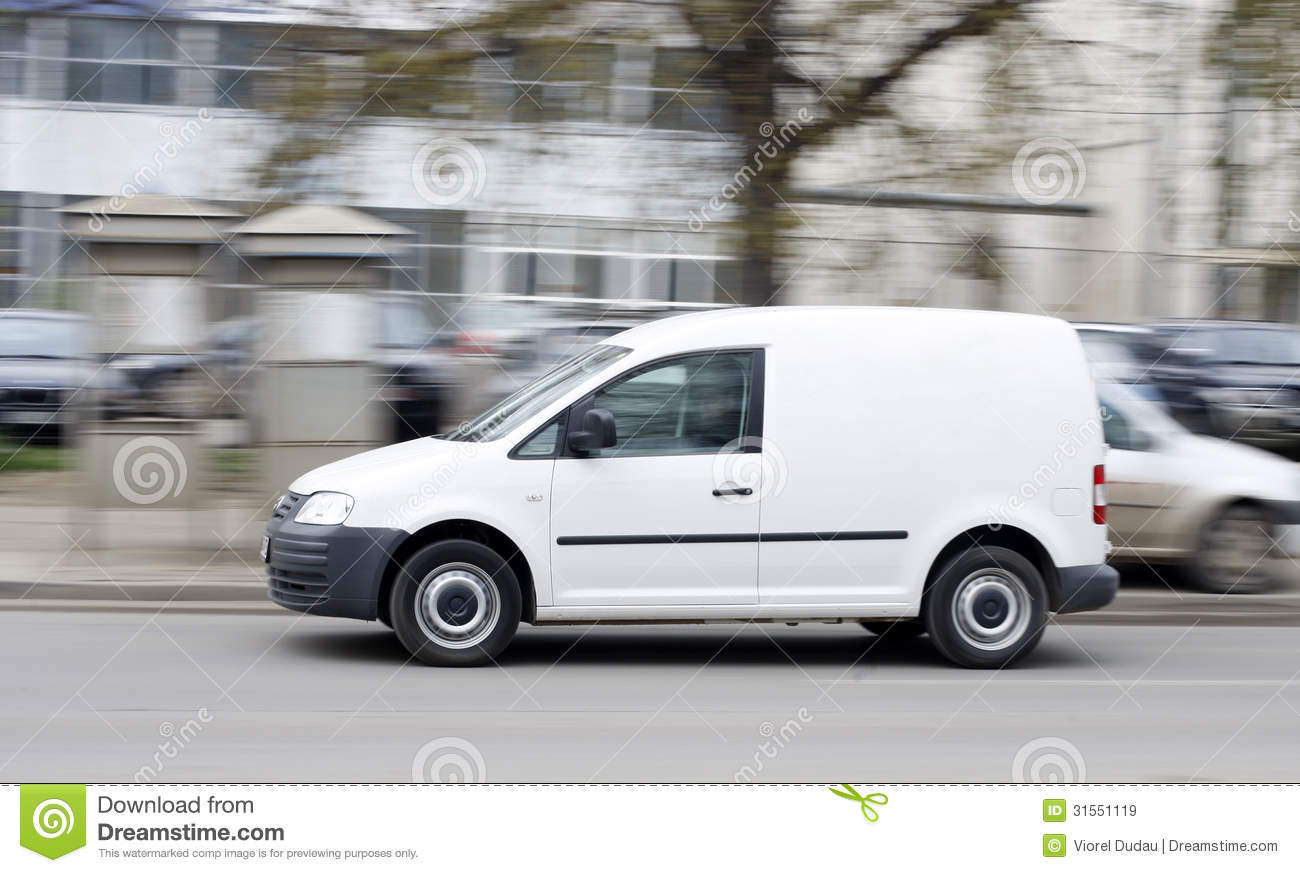 Delivery Van Royalty Free Stock Images - Image: 31551119
