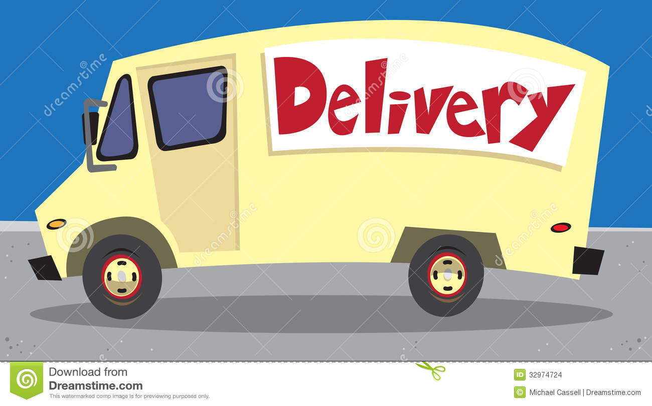 Delivery Van Stock Images - Image: 32974724