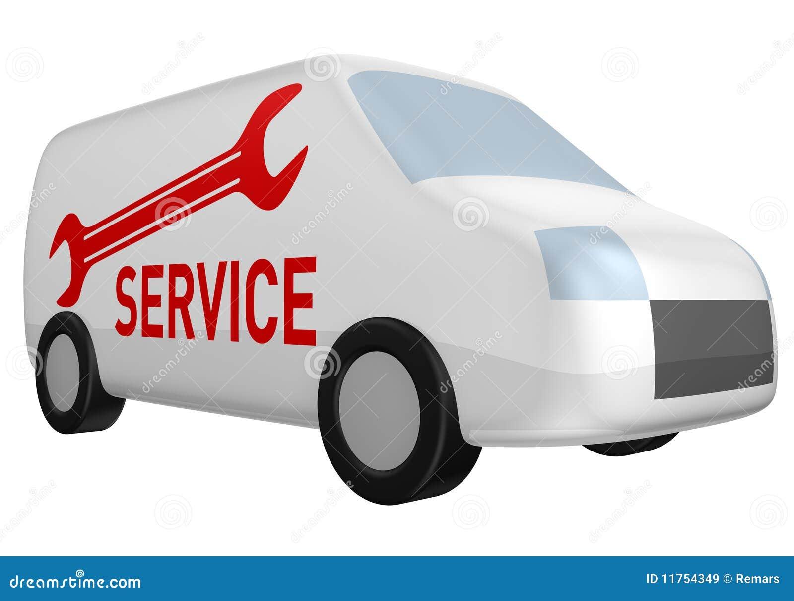 eef5bd85e1e9 Delivery van service stock illustration. Illustration of motion ...
